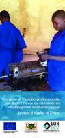 Dépliant NIG/801 - Formation et insertion professionnelle des jeunes, Agadez & Zinder